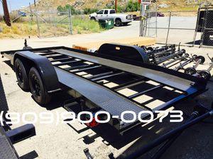 Open Center Car Hauler 8.5X16 for Sale in Hemet, CA