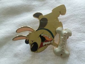 Disney trading pin Jumbo size! Mulan's dog Little Brother for Sale in Houston, TX