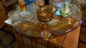 3 carnival glass items for Sale in Tacoma, WA