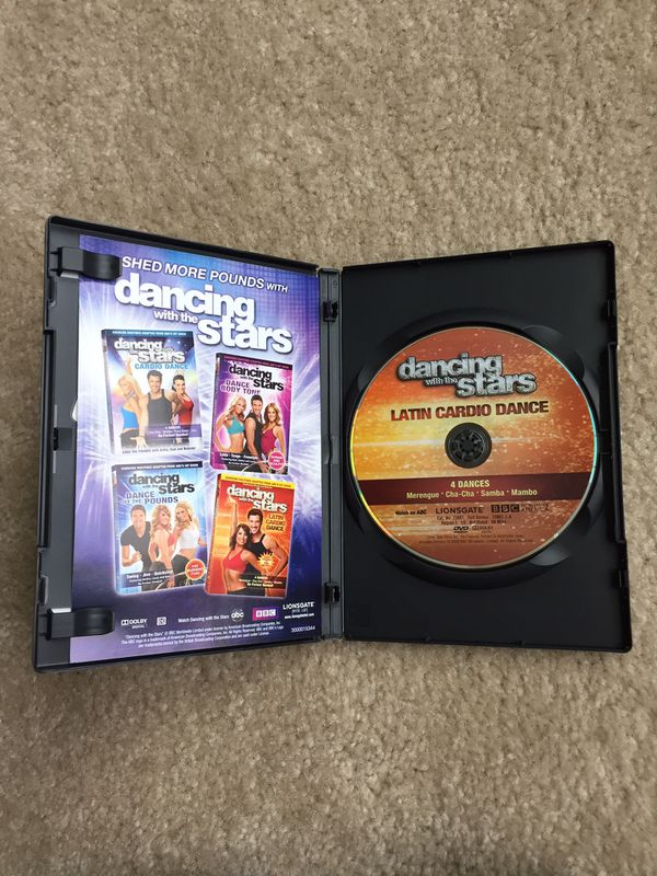Dancing with the Stars: Latin Cardio Dance DVD