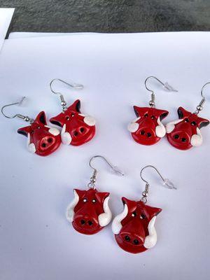 Razorback Earrings for Sale in North Little Rock, AR