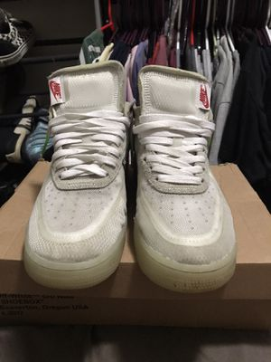 Size 11 off white af1 the ten Virgil abaloh for Sale in La Mesa, CA