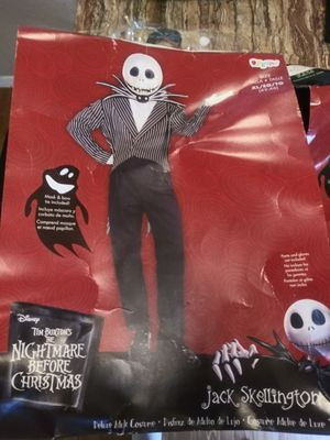 Adult XL Jack nightmare before Christmas for Sale in Austin, TX