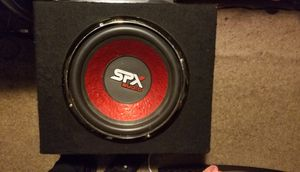 "SDX Audio Pro 12"" Premium System + 4ch AMP mounted on top 4k watts for Sale in Huntingdon Valley, PA"