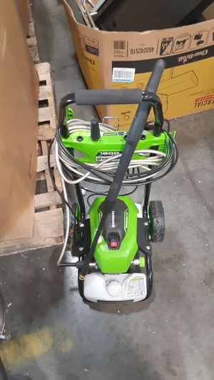 Greenworks 1800 psi power washer. for Sale in Annapolis Junction, MD