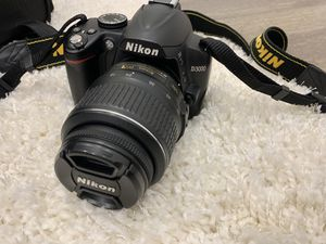 Gently Used Nikon DSLR D3000 for Sale in Westlake, MD