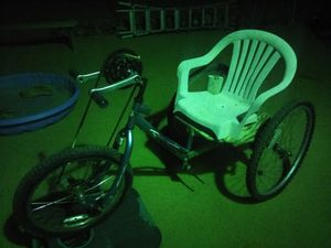 Rat rod custom 3wheeler that pedals buy hands and not feet for Sale in Hesperia, CA