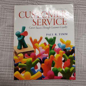 Customer Service Six Edition Paul R Timm for Sale in Salt Lake City, UT