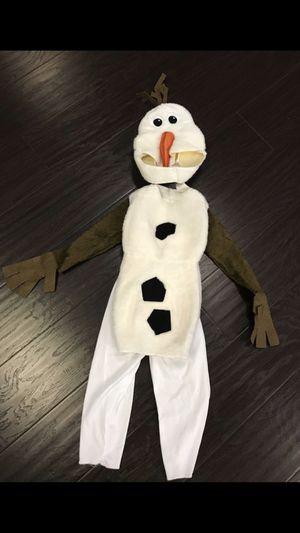 Frozen Olaf costume. Kids. Toddler. Baby. Boys. Girls. Ana. Elsa. Marshmallow for Sale in San Bernardino, CA