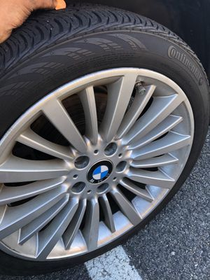 2 Continental ContiProContact SSR Run Flat Radial - 245/45R18 91V for Sale in Chantilly, VA