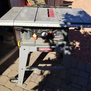 Table Saw Craftsman for Sale in Scottsdale, AZ