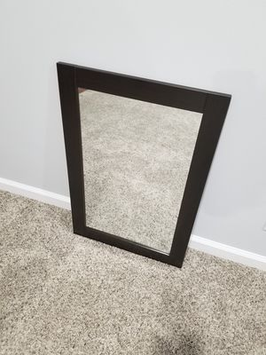 Rectangular Hanging Wall Mirror for Sale in Wheeling, IL
