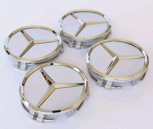 Mercedes Benz wheel Rim Center Hub Caps Emblem 75mm (set of 4) for Sale in Goodyear, AZ
