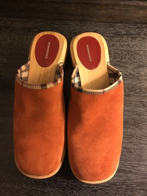 Burberry Clogs - size 10 (41) Authentic for Sale in Pittsburgh, PA