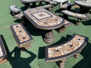 Concrete outdoor patio furniture for Sale in Roseville, CA