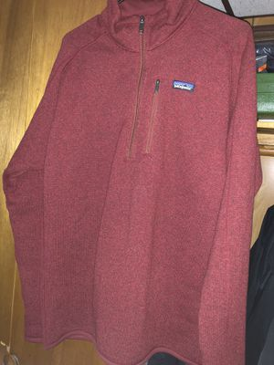 Men's Patagonia Better Sweater 1/4 Zip Size L for Sale in Beltsville, MD