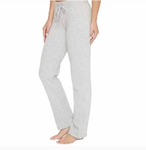 NWT ugg seal grey penny knit fleece lounge pants Medium for Sale in Clermont, FL