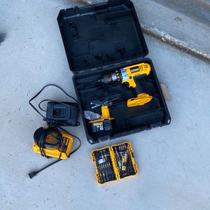 Dewalt Drill And Extras for Sale in Sloan, NV
