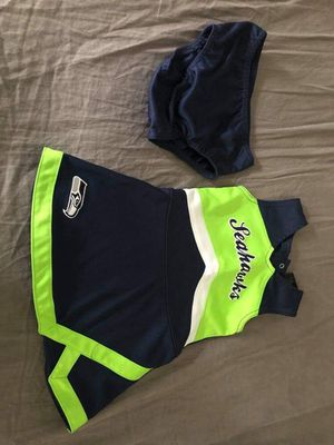 2T used Seahawks cheer outfit for Sale in Renton, WA