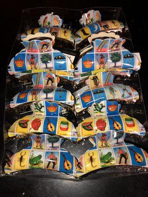 Loteria hair clips $1 each for Sale in Bellflower, CA