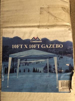 10ft x 10ft tent. Used once. for Sale in Tustin, CA