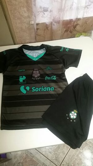 Soccer Santos clothes kids size 10 for Sale in Fresno, CA