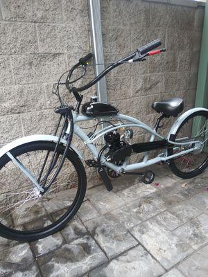 New custom motorized stretched bike 80cc. for Sale in Hermosa Beach, CA