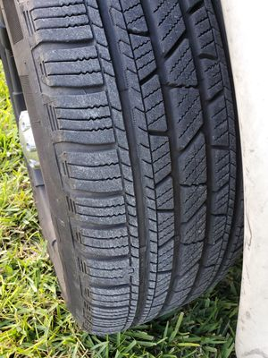 Set of wheels and tires for Sale in SUNNY ISL BCH, FL