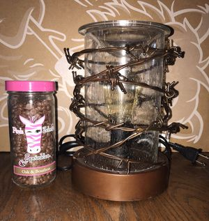Scentsy Warmer (Rustic Ranch) with Wax Sprinkles for Sale in Lakeland, FL