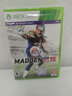Sealed Xbox 360 madden nfl 15 for Sale in Irwindale, CA