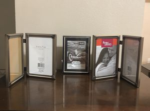 2 Photo picture frames 5in X 7in & 1 Photo Picture frame 4X6 for Sale in Palm Bay, FL