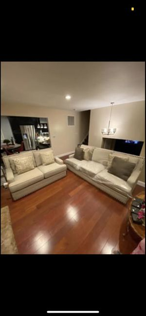 2 Piece Couch and Loveseat for Sale in Trenton, NJ