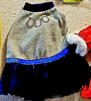Blue dog 🐕 dress size XSMALL for Sale in La Habra Heights, CA