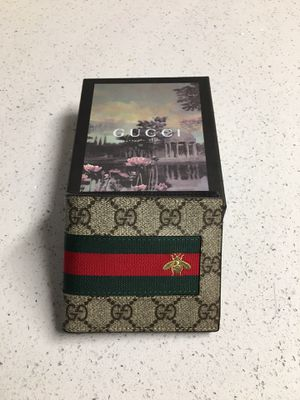 Gucci web GG compact wallet insect canvas for Sale in Avondale, AZ