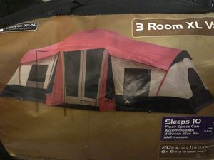3 room tent sleeps 10+ for Sale in Columbia, MD
