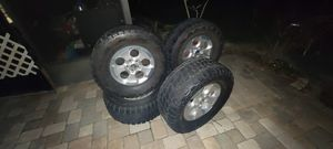 5x5 wheels and tires for Sale in Tampa, FL