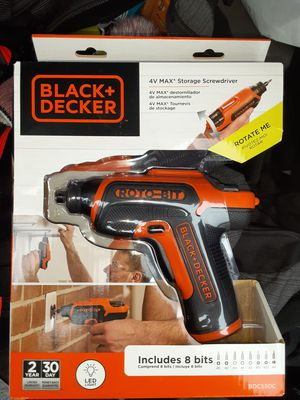 Black & decker drill and bits for Sale in Eugene, OR