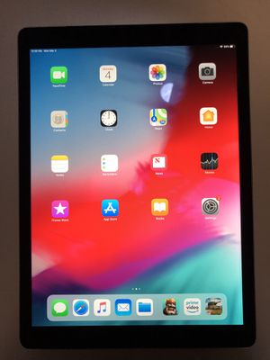 "iPad Pro 12.9"" Black 128gb WiFi & 4G LTE UNLOCKED $480 for Sale in Centreville, VA"