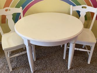 Pottery Barn Kids Table And Chairs for Sale in Canby,  OR