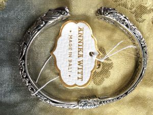 New Ornate Cuff with Brilliant Amethyst for Sale in Skokie, IL