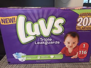 Luvs Diapers (unopened) for Sale in Orlando, FL