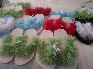 GIRLS SANDALS. 13 PAIRS FOR 10 DLS for Sale in Santa Fe Springs, CA