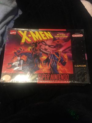 X men super nintendo for Sale in Parma, OH