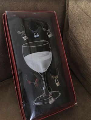 Wine glass charms for handbag lovers, $5 for Sale in Burbank, CA