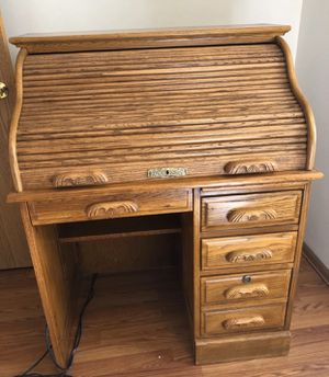Antique Roll Top Desk for Sale in Sugar Land, TX