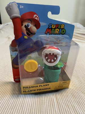 Super Mario Piranha Plant with Coin for Sale in Holly Springs, NC