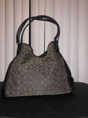 Coach purse Black and Gray!! $65 OBO!! for Sale in Riverside, CA