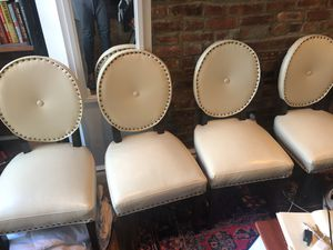 Pier 1 import ivory chairs for Sale in New York, NY