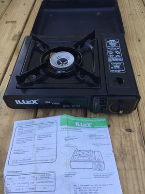 Butane camping stove one burner for Sale in Bellaire, OH