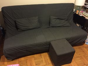 IKEA Futon with Ottoman, Pillows for Sale for sale  New York, NY